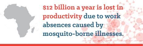 Global economic impact from mosquito borne diseases