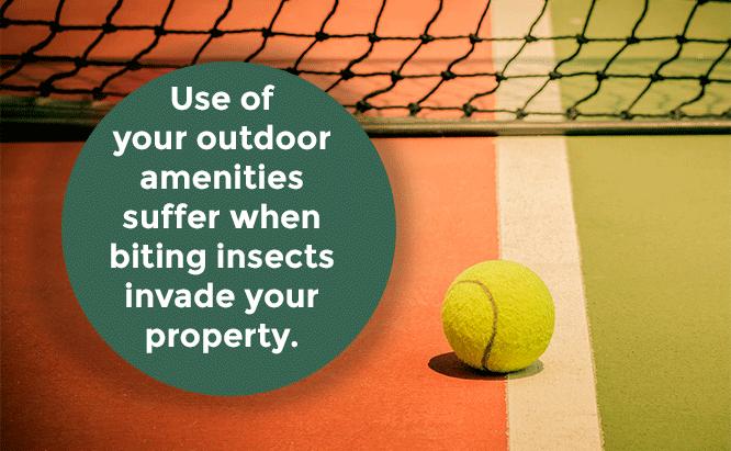 sports field mosquito control