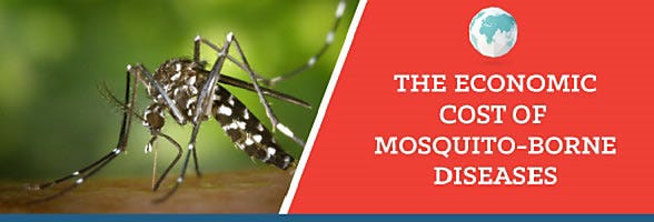Economic Cost of Mosquito Borne Diseases