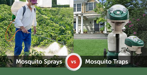 Mosquito Spray Treatment Vs Mosquito Traps