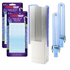 Dynatrap® Flylight Indoor Insect Trap Kit - White